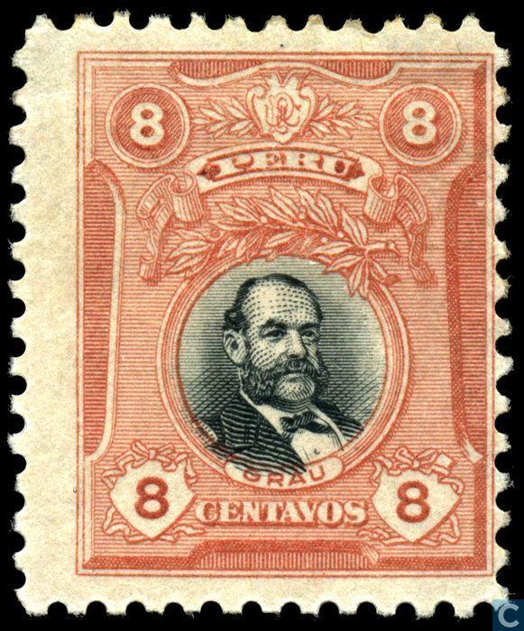 Peru - Miguel Grau 1918