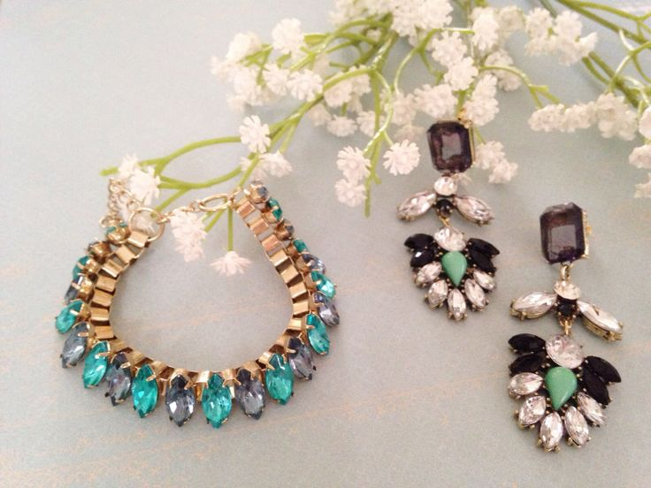 Verve Bracelet and Ador Earrings from Wanderlust Collection