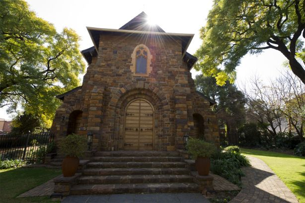 Christ Church Arcadia was birthed in 1903 at a meeting to consider the work of the Anglican Church in Pretoria. In the following year Herbert Baker, a British architect, and his associates were commissioned to design the church.  Here we got married :-)
