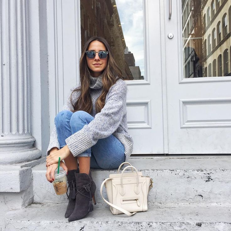 Arielle Charnas in flirty details for fall, including Vanguard Zero 18 sunnies  @somethingnavy
