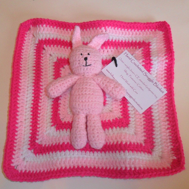 Bunny Snuggle Blanket £9.50