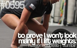 """""""lift like a lady.....lift heavy!"""" We totally agree! Ladies, you want to look like Jessica Biel? Pick up the weights."""