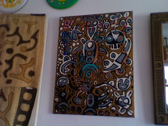 Kuchera Art 3 KUCHERA middlemen 60x80cm