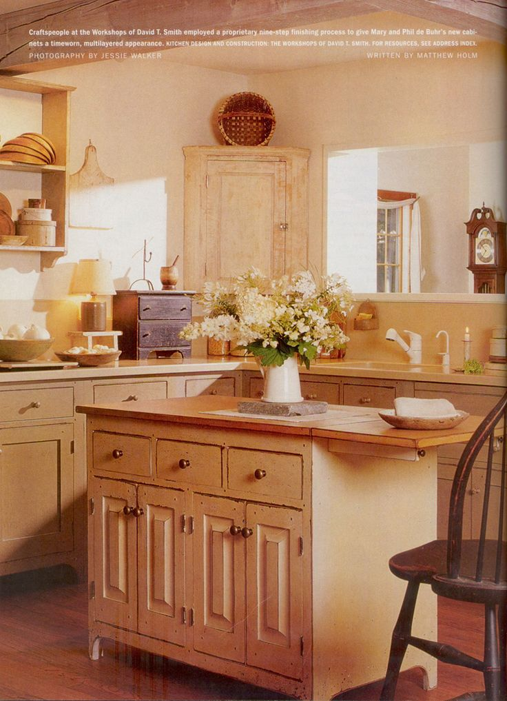 The Workshops Of David T. Smith   Country Living Magazine Publication Part 82