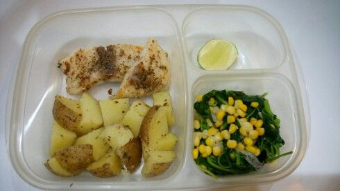 Lunch box diet menu day#2
