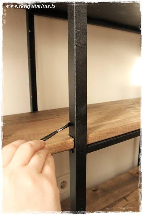 die besten 25 ikea hack hyllis ideen auf pinterest. Black Bedroom Furniture Sets. Home Design Ideas