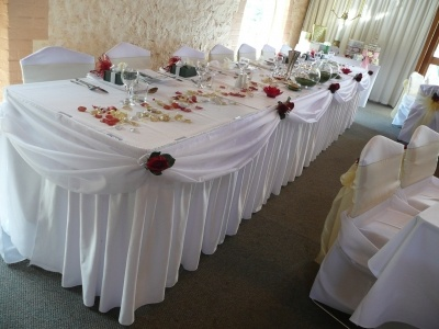 31 best wedding decorations hire australia images on pinterest skirtings come in white black or ivory wedding decoration and hire from adelaides dazzling junglespirit Gallery