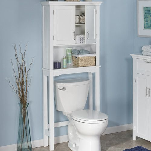 "RiverRidge Home Products Somerset 28.38"" x 64"" Over The Toilet Cabinet"