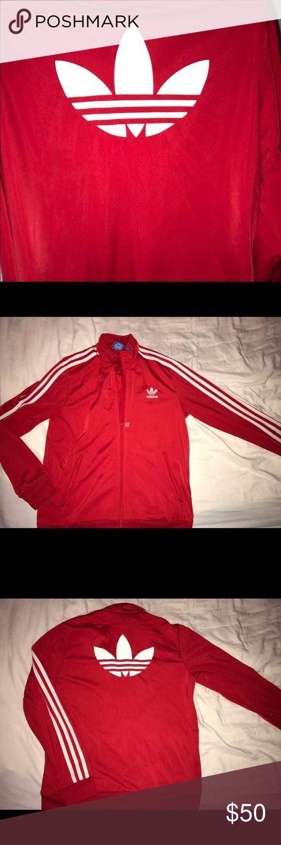 Adidas jacket! ❤️❣️❤️ Red & white adidas jacket. adidas Jackets & Coats
