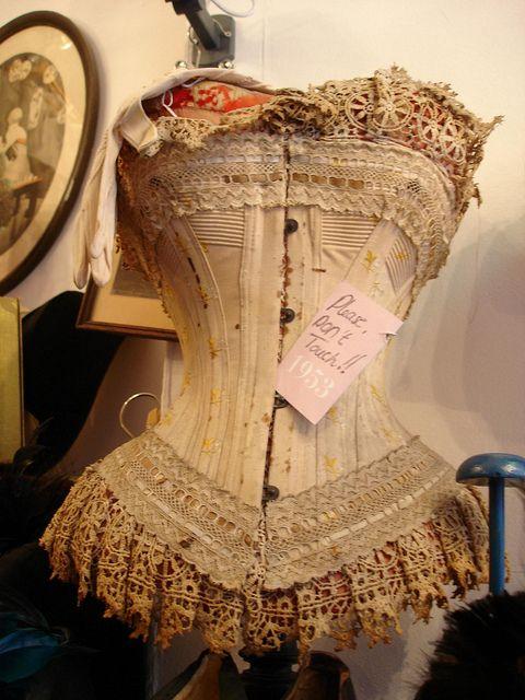 vintage corset.