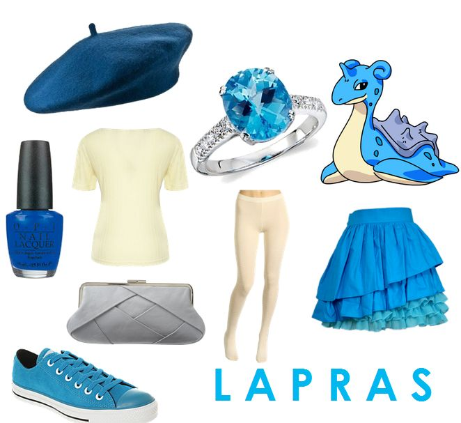 I love the skirt, hat, and nail polish <3