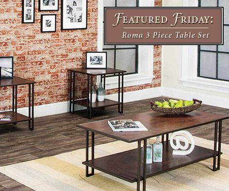 Trendy With A Combination Of Wood With Bronze Legs | American Freight  Furniture