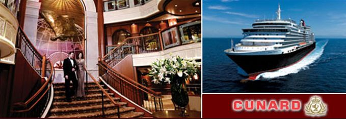 Book your Cunard Cruise with Jet Set Tourism! Great Rates & Amenities Available!