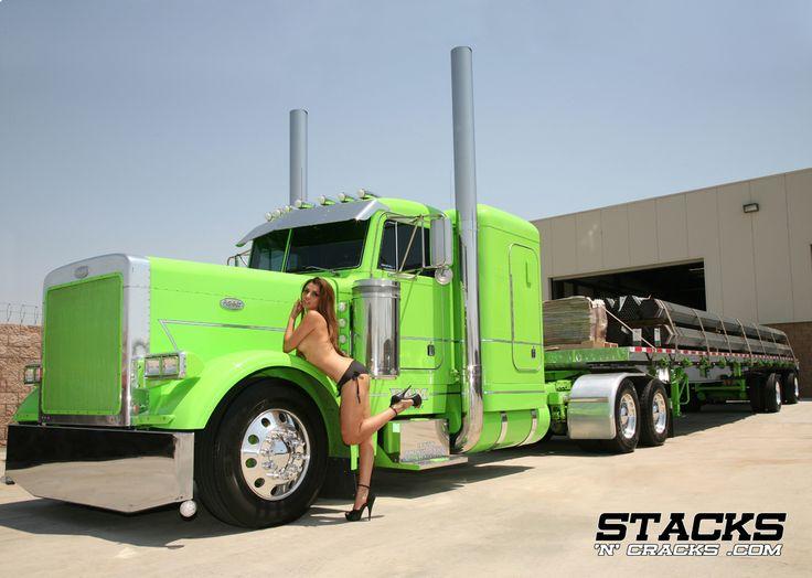 cool trucks hot sexy women