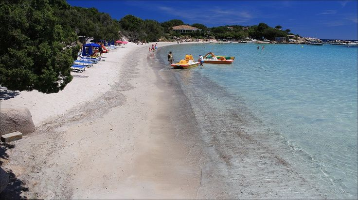 Plage de Santa Giulia - Corse du sud - France