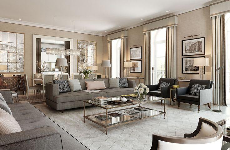 This maybe?    01-Interior Designer   Ben Pentreath-This Is Glamorous