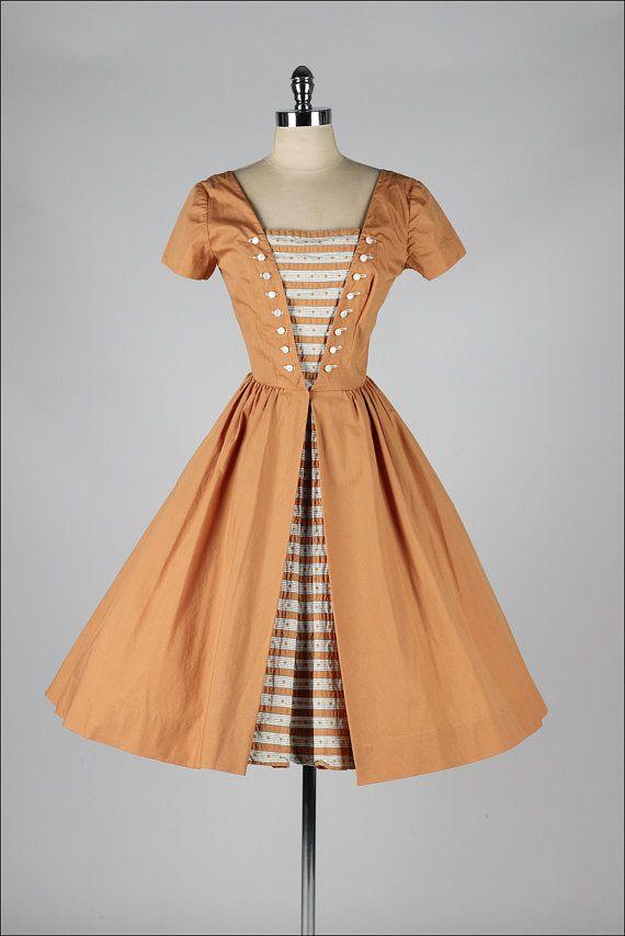 1950's Cotton Dress