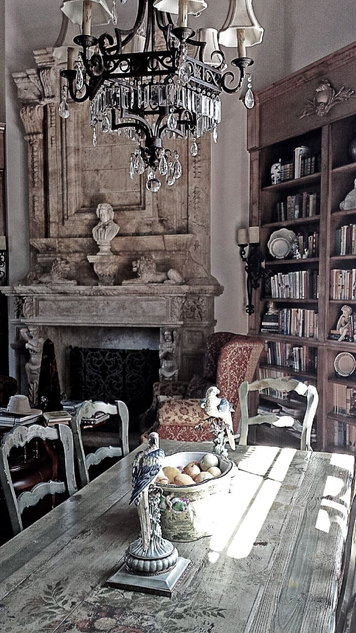 "leodowell: "" French Country interiors are an accumulation of warm and weathered belongings lovingly collected and appreciated for their perfect imperfections. Leodowellinteriors.com """