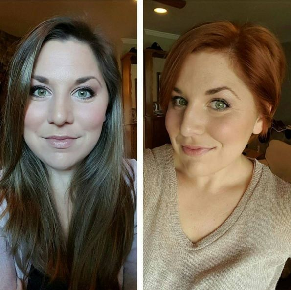 Van lang naar kort! Sprankelende transformaties van langer naar korter haar!