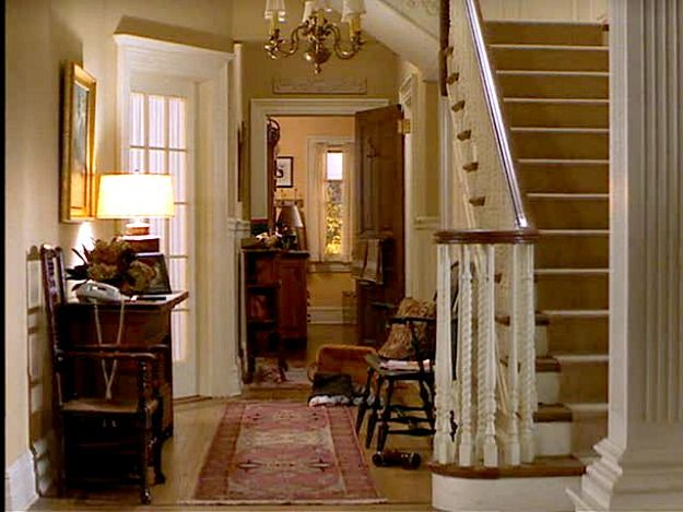 Hooked on Houses -- Stepmom movie staircase