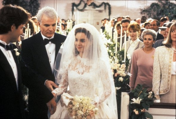 Father of the Bride (1991) - Steve Martin, Kimberly Williams, George ...