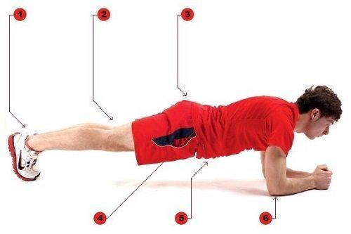 Упражнение планка — универсальная тренировка для всего тела. Всего 2 минуты в день — и ты будешь в форме!