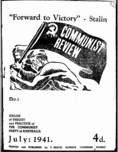Australia s response to communism in the