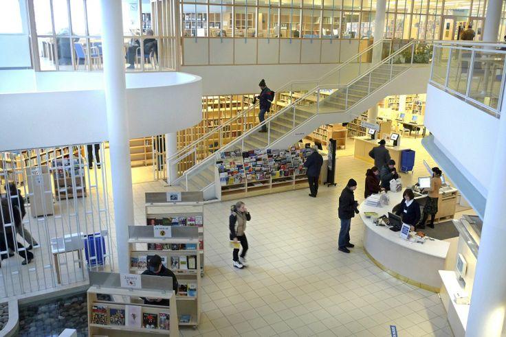 Lahti city library.