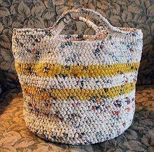 Sacolinhas Plásticas: Como fazer crochê de sacolas plásticas e reinventar uma sacola permanente!