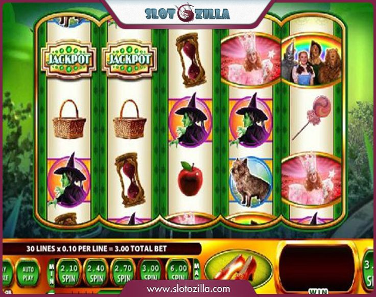 The Wizard of Oz free #slot_machine #game presented by www.Slotozilla.com - World's biggest source of #free_slots where you can play slots for fun, free of charge, instantly online (no download or registration required) . So, spin some reels at Slotozilla! The Wizard of Oz slots direct link: http://www.slotozilla.com/free-slots/wizard-oz