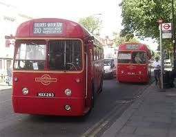 Image result for london bus route 210