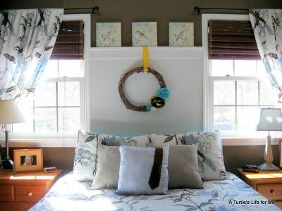 17 best images about beautiful headboards on pinterest for Faux headboard ideas