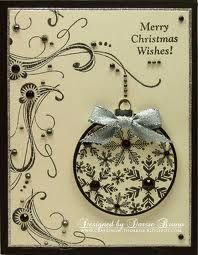 Love this Black and white but think a red bow would set it off