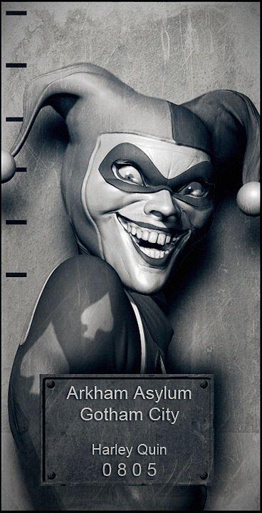 Gotham City Arkham Inmates