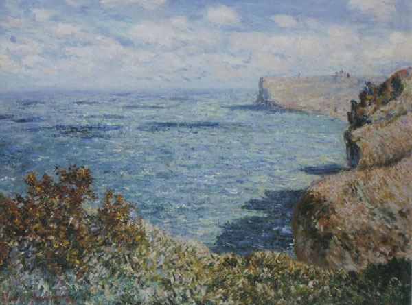 Claude Monet - View taken from Grainval (1881): Art Paintings