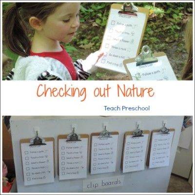 Let's head outdoors and check out nature!