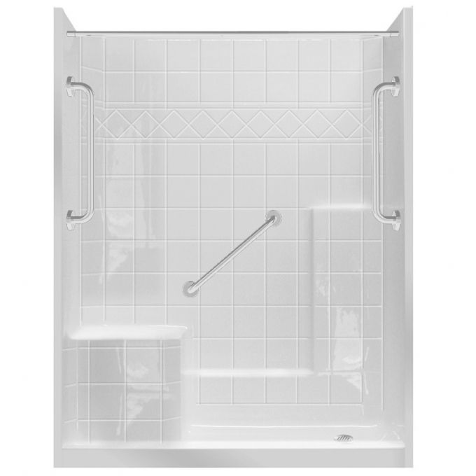 30 X 48 Shower Stall Kits Ideas At Lowes Photos