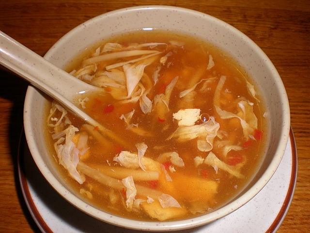 Hot and Sour Soup. I LOVE hot and sour. I've never found a homemade recipe I liked. Gotta try this one.