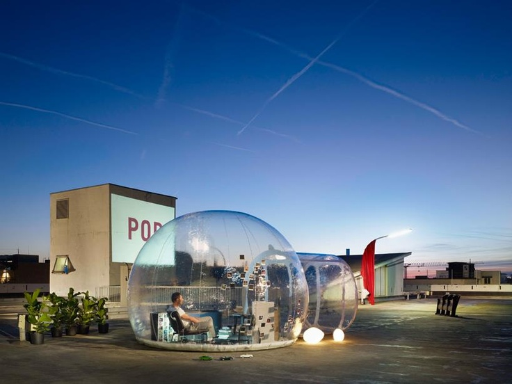 Amazing Concept At ISH The Inflatable Bathroom Bubble   Homesthetics    Inspiring Ideas For Your Home.