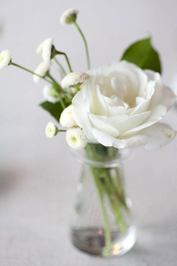 idee simple mais elegante de bouquet de table