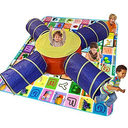 Toy Cubby 4 Way Tube Pop-up Developmental Toy Tent Kid Tunnel   sc 1 st  Pinterest & Best 25+ Kids tunnel ideas on Pinterest | Kids play tunnel ...