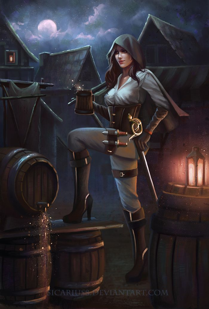 """we-are-rogue: """" Bootlegger by Sicarius8 [suggested by @we-are-shadowdancer] """""""