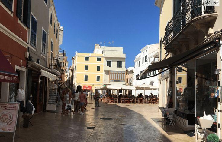 Ciutadella Auf Menorca Kleine Gassen Kleine Bars Kleine Laden Grosses Ausflugsziel Menorca Ausflug Sommerurlaub