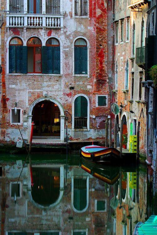 Canal Entry, Venice, Italy