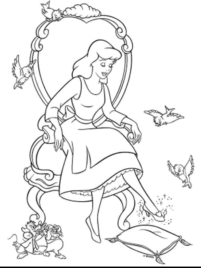 Cinderella And Belle Coloring Pages Cartoon Coloring Pages Disney Coloring Pages Cinderella Coloring Pages