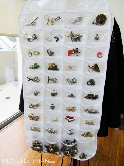 Small accessories organization