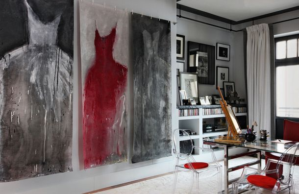 Квартира в Москве: искусство, мода и дизайн