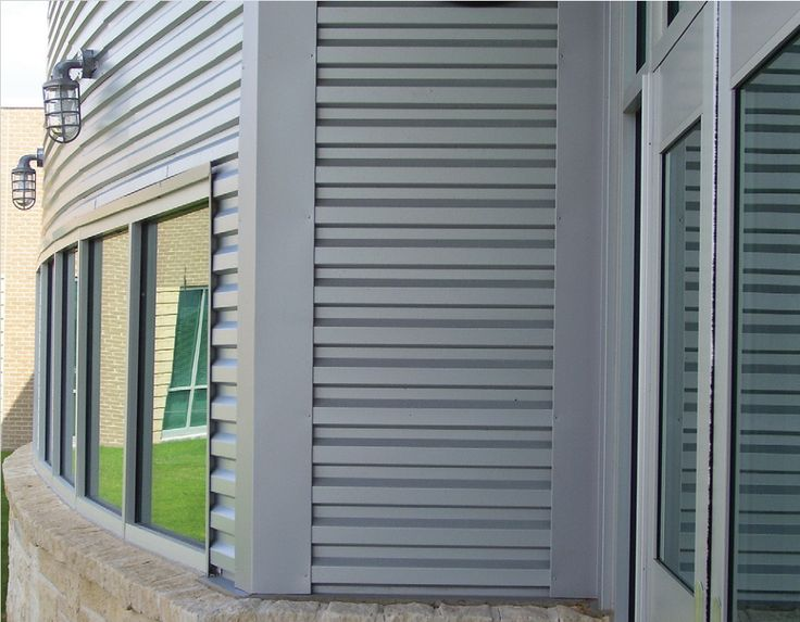 Wave Wall Panels Architectural Building Components Pfc