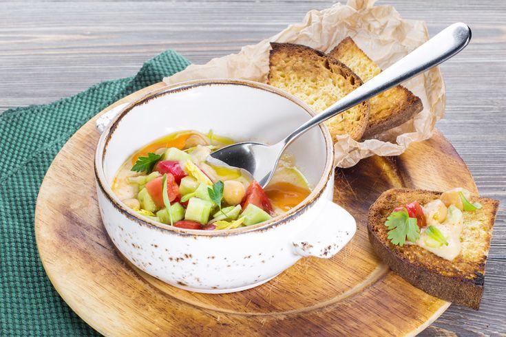 How to Green | Рецепт итальянского хумуса из нута с овощами