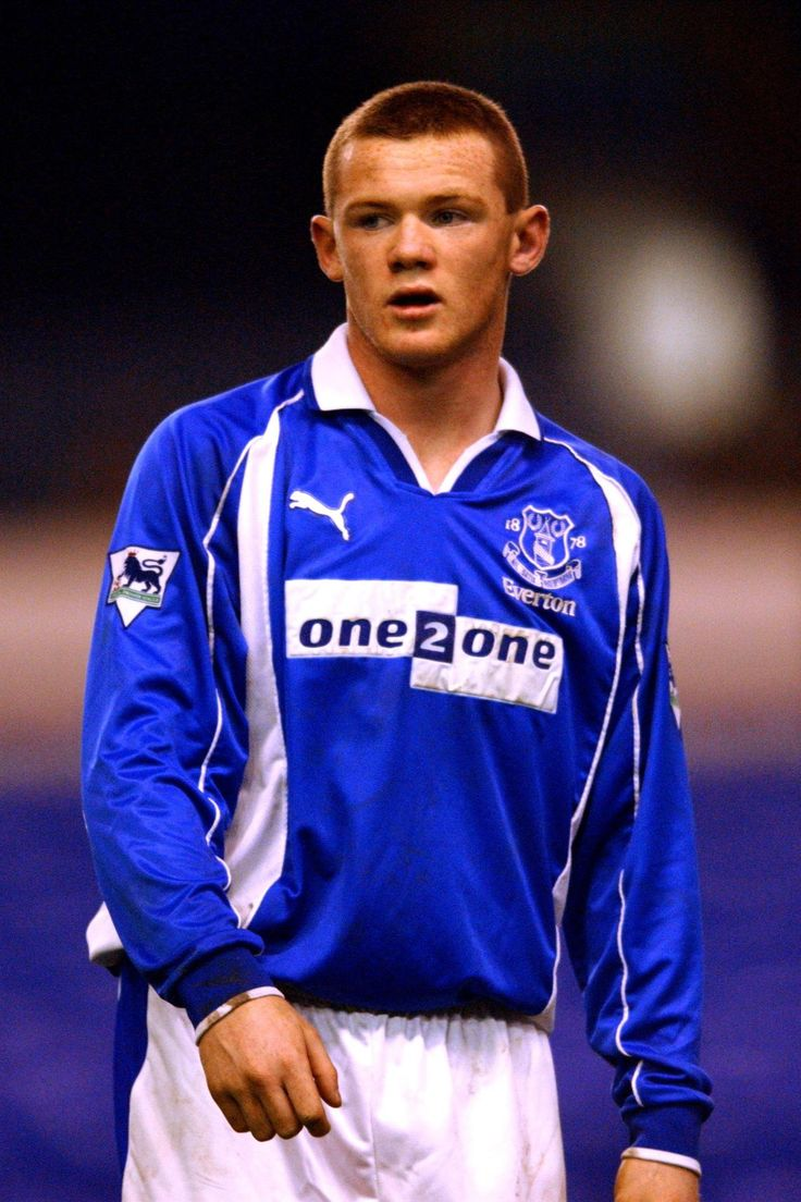 Rooney when he was a wee lad. I have that jersey :p